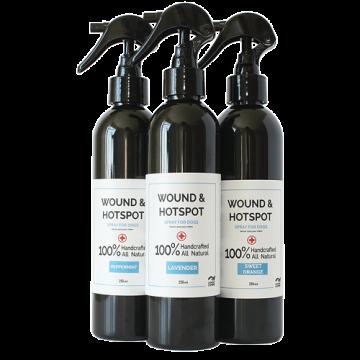 100% Natural Dog Hot Spot Spray